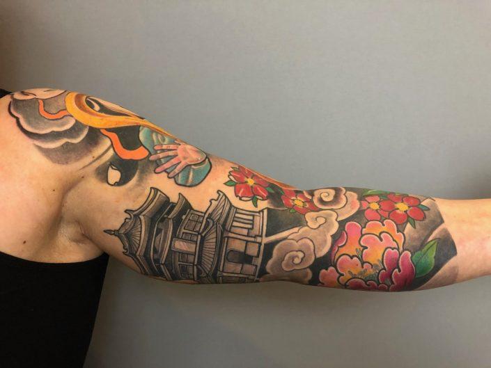 "Tattoo von Tom ""Tempelwächter"" Tempel"